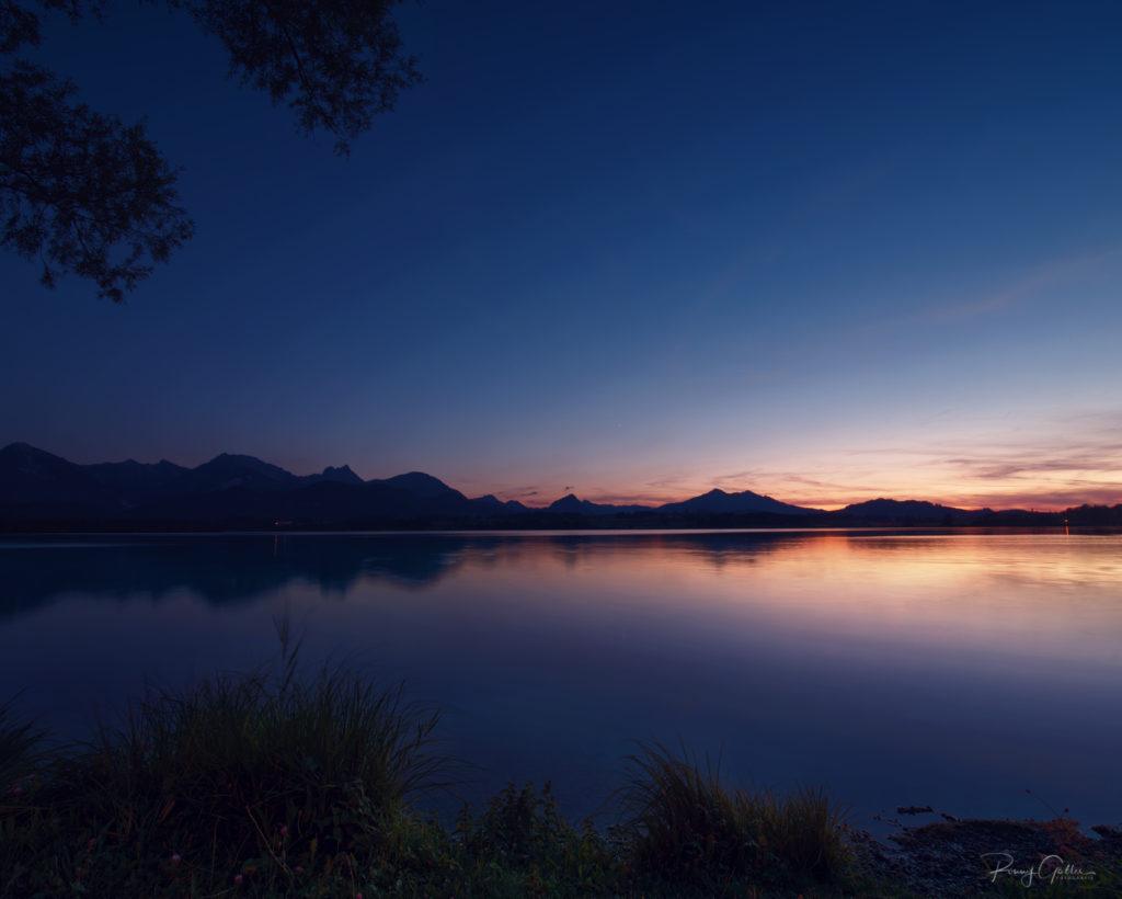 Blaue Stunde am Hopfensee fotografiert tipps wie du die blaue Stunde fotografieren kannst