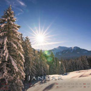 Landschaftskalender A4 by Ronny Gäbler