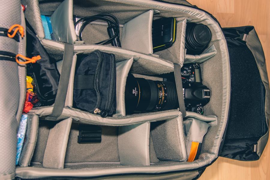 Equipment für Landschaftsfotografie